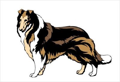 海外の犬の無料ベクター1