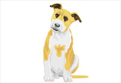 海外の犬の無料ベクター2