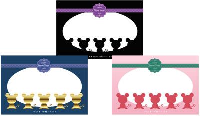 デザインはフォトフレームが1枚用だけですが、カラーは他に3種あります。