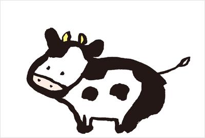 愛嬌のある猪のイラスト